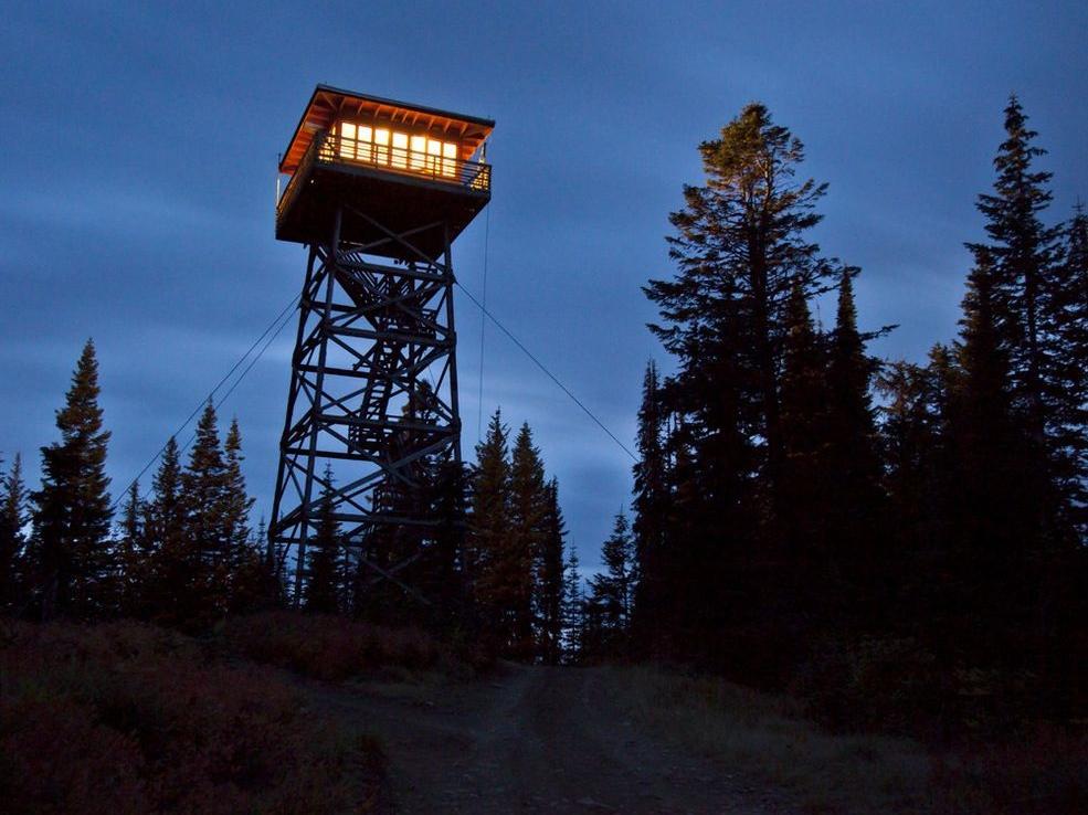 Take refuge for Forest service cabins oregon