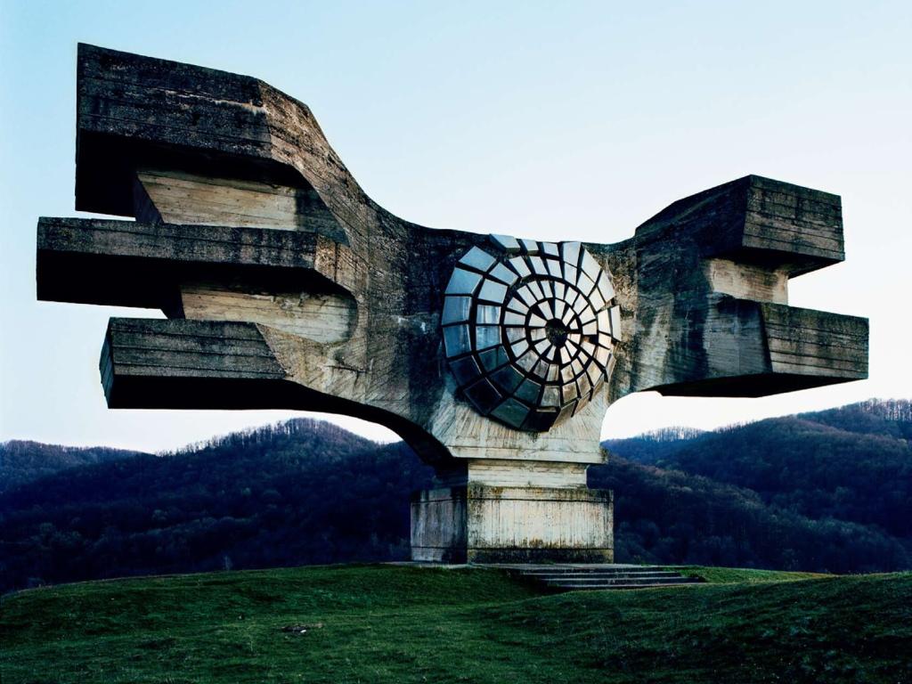 Kozara Monument The Concrete Echo by Dmitry