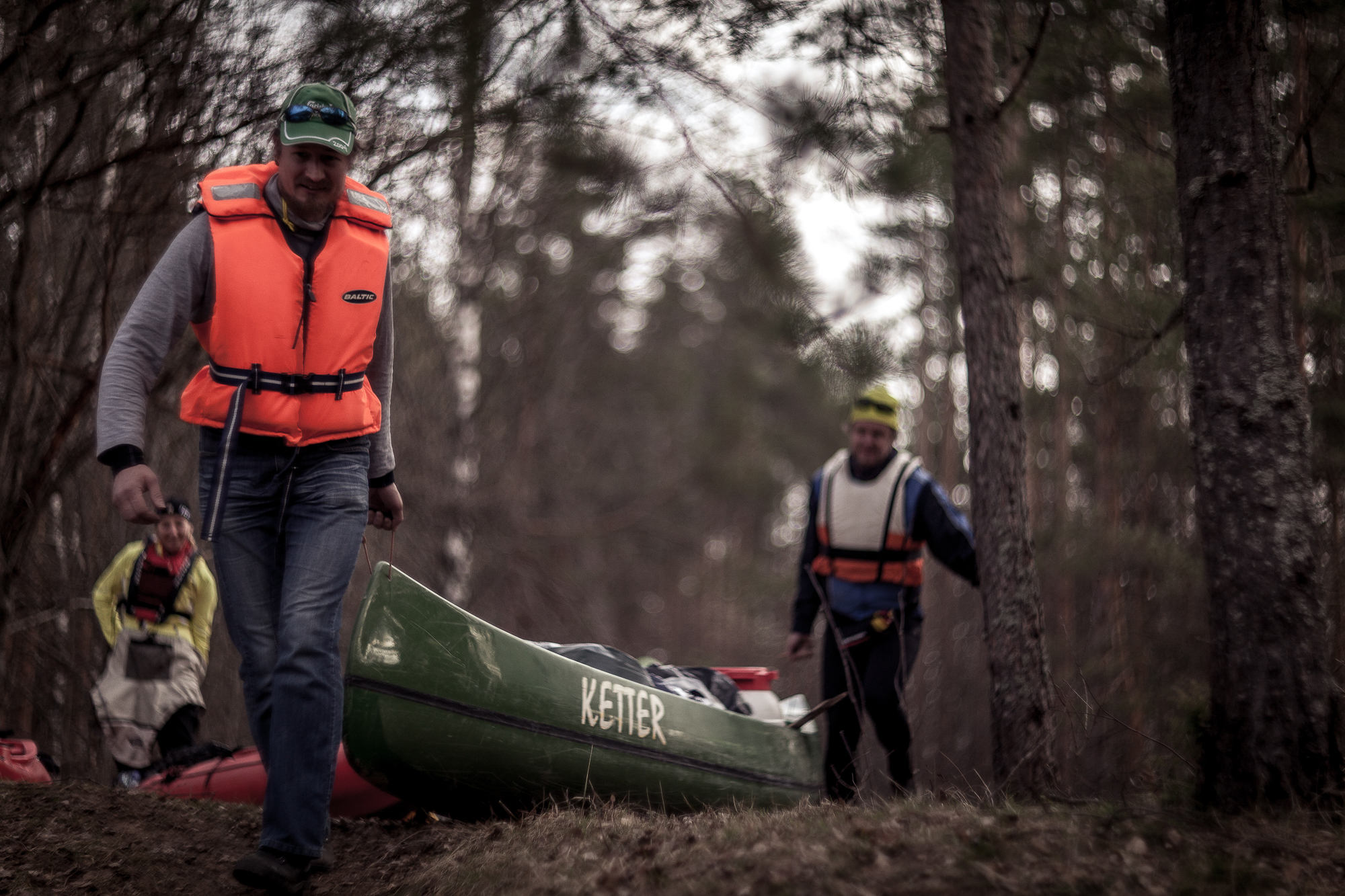 how to train for a canoe trip